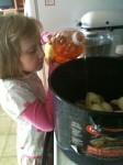 Boiling Apples for Applesauce