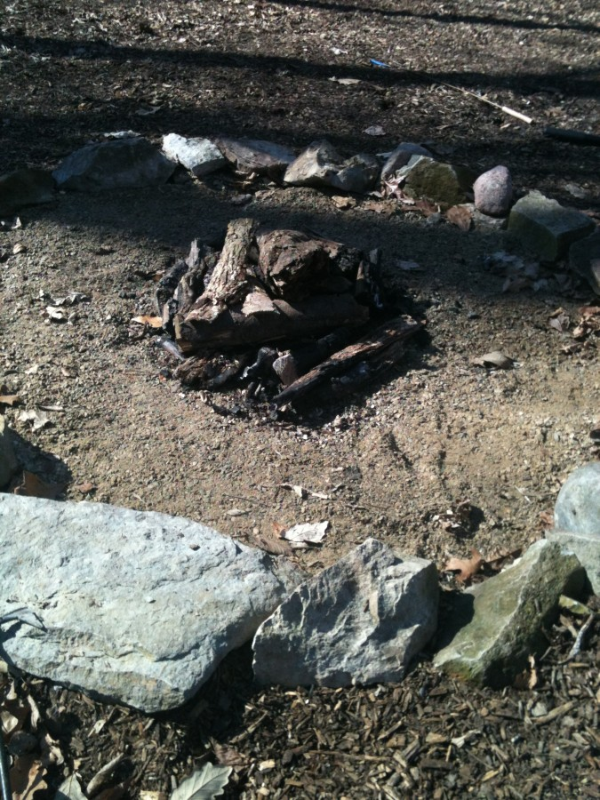 The $5 Repurposed Fire Pit