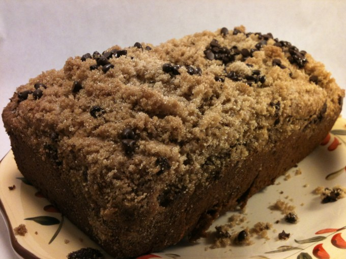 Chocolate Chip Banana Bread Crumble