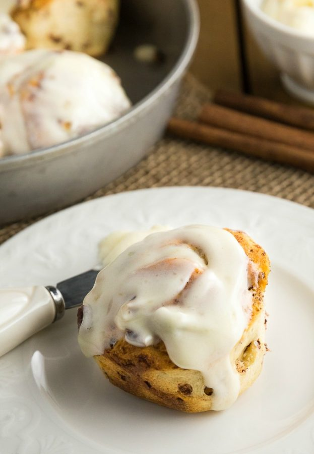 This bread machine cinnamon rolls recipe is a great way to start your day!