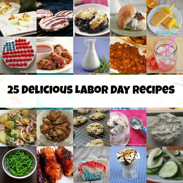 25 Delicious Labor Day Recipes!