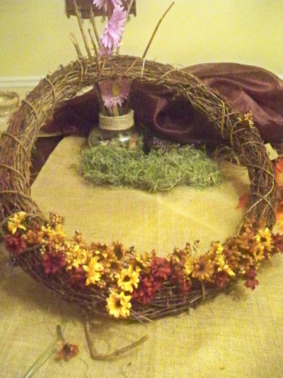 How to do it yourself fall wreath