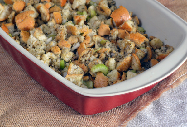 Deliciously easy homemade stuffing recipe.