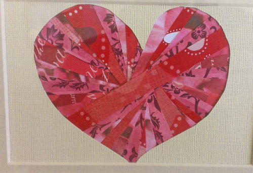 Heart Picture Frame Craft