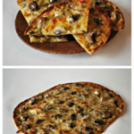 This pesto flatbread pizza is amazing, and it's only 8 WW points