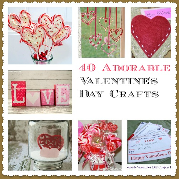40 Valentine's Day Crafts