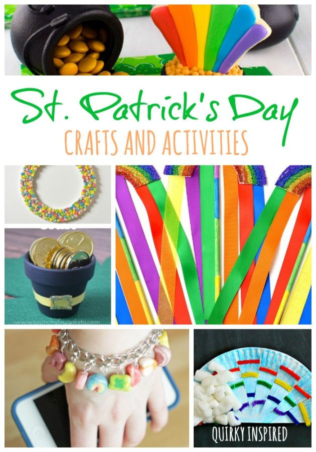 A great list of 17+ St Patricks Day crafts for the whole family! St Patrick's Day free printables, St Patrick's Day crafts for kids and even St Patricks' Day home decor. Click the pin for fun!