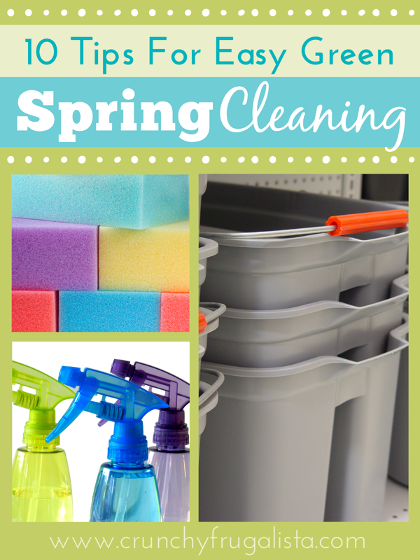 10 Tips For Easy Green Spring Cleaning
