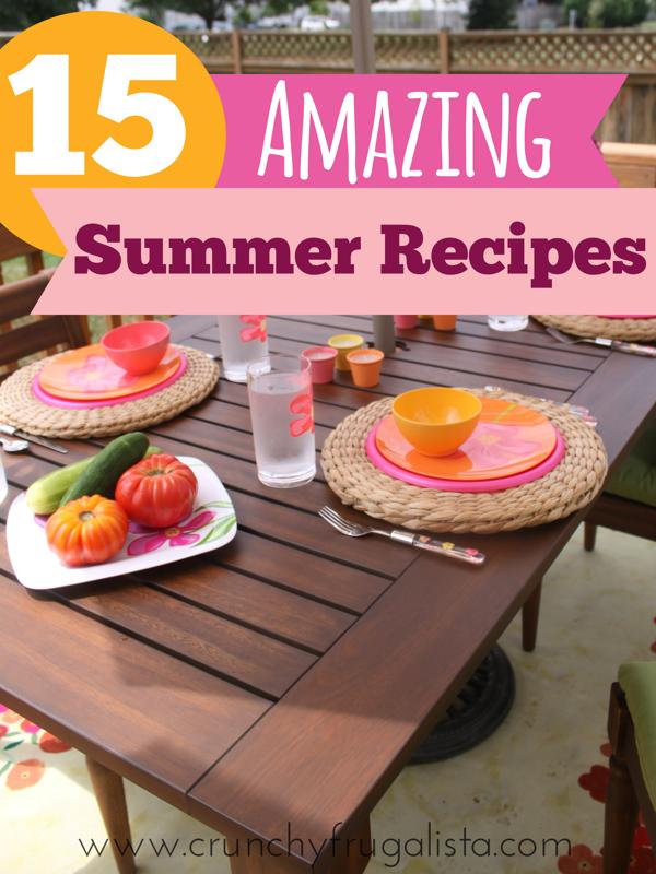 15 Amazing Summer Recipes