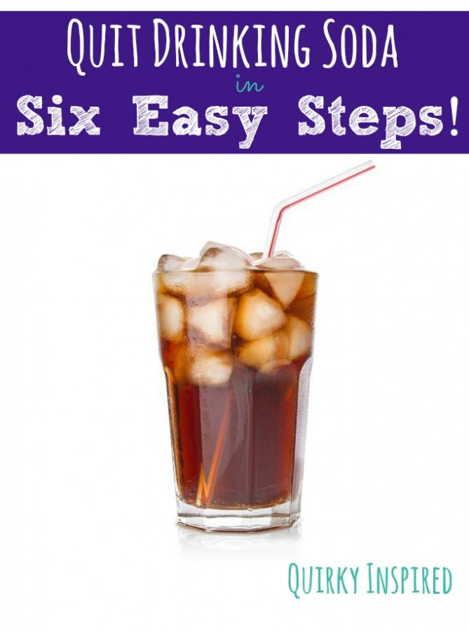 Want to finally quit drinking soda? Check out how I quit drinking soda after decades in six easy steps!