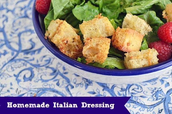 Homemade Italian Salad Dressing