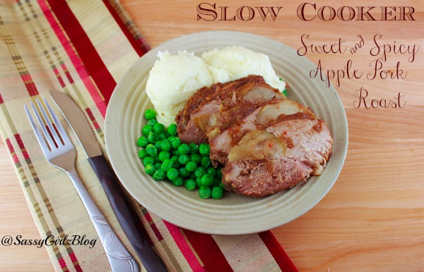 Sweet and Spicy Slow Cooker Apple Pork Roast Perfect Fall Dinner