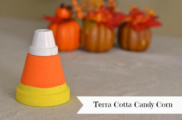 Terra Cotta Candy Corn
