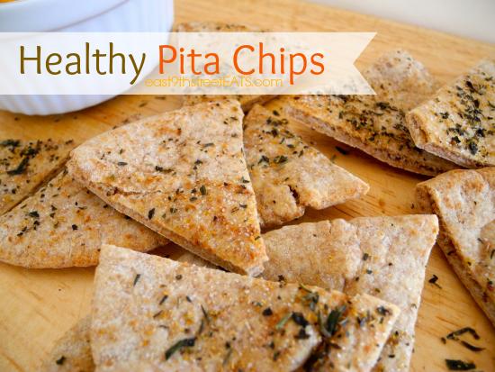 Simple Pita Chips Recipe — Dishmaps