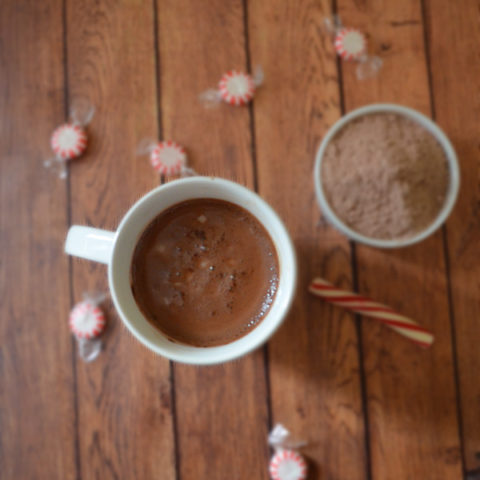 Homemade Hot Cocoa Mix #ad