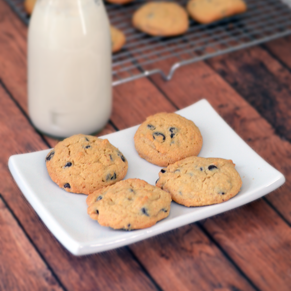 Peanut Butter and Chocolate Chip Cookies #ad