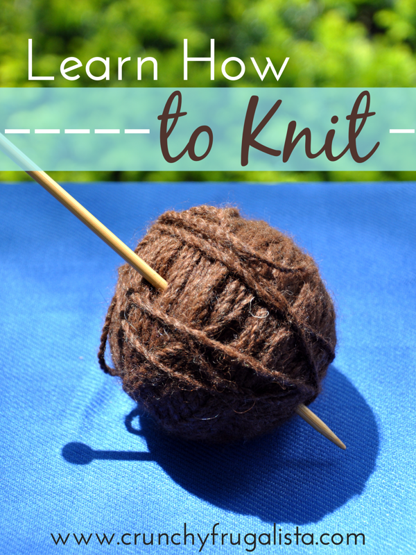 Learn How to Knit #ad