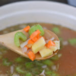 crockpot vegetable soup #shop