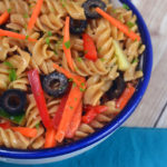 Easy Italian pasta salad recipe. This pasta salad recipe is a great cold pasta salad perfect for any ocassion.