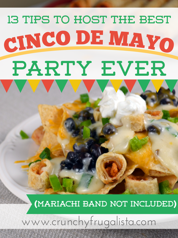 13 Tips for the Best Cinco De Mayo Party Ever (Mariachi Band Not Included)
