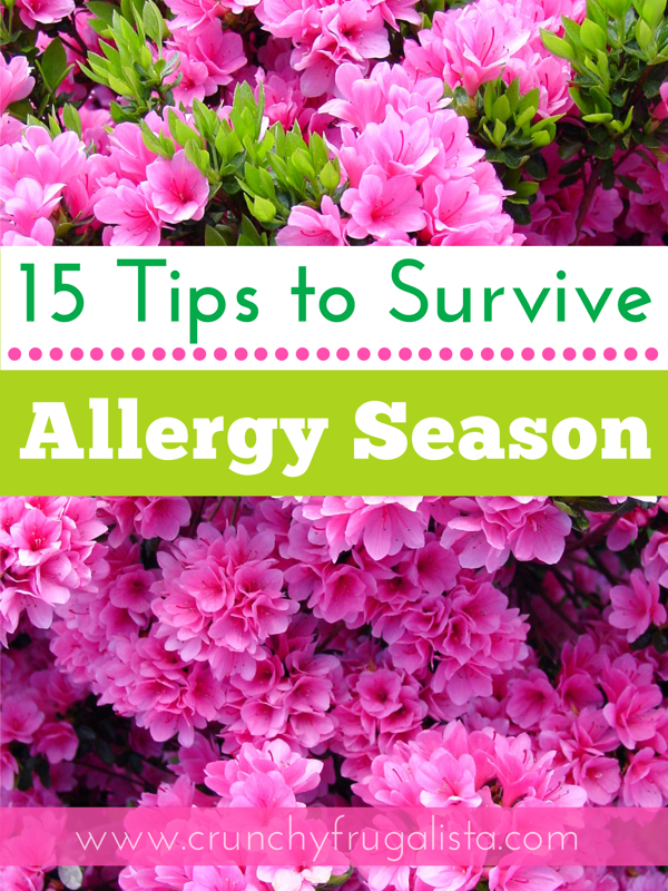 15 Tips to Survive Allergy Season with Angel Soft