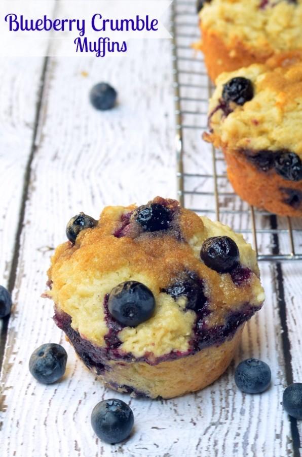 Tastebuds Activitate: Blueberry Crumble Muffins with Probiotics