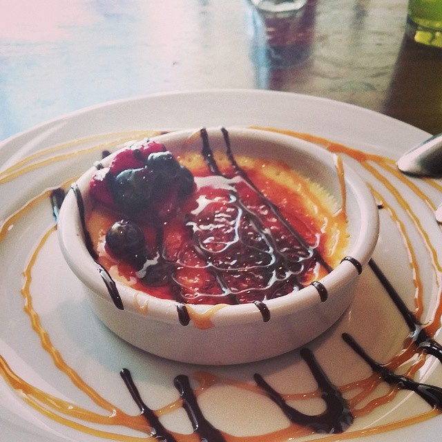 Perfect end to an amazing trip #cremebrulee #instagood #foodporn #denver #travel #dessert
