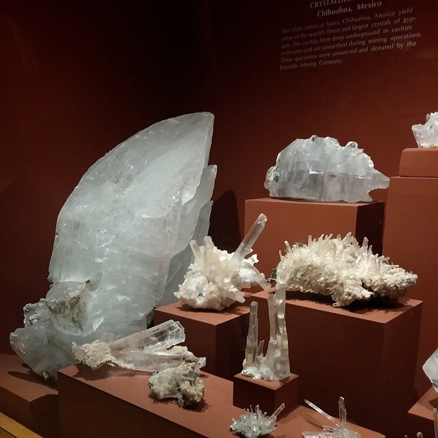 Awesome rock collection at the @denvermuseumns #denver #travel #museums #sciencerocks #bling