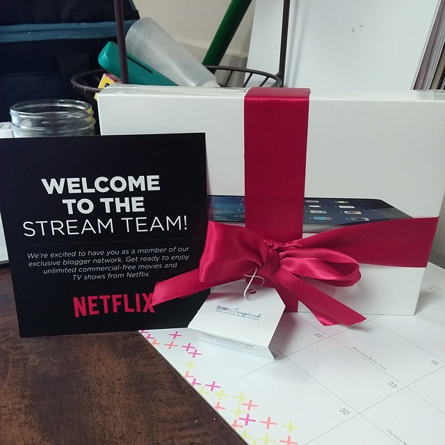 Stupid excited to be a part of the @Netflix #streamteam #sp #movies #thingsthatrock #awesome #streaming