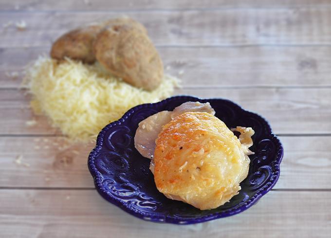 Garlic Parmesan Au Gratin Potatoes