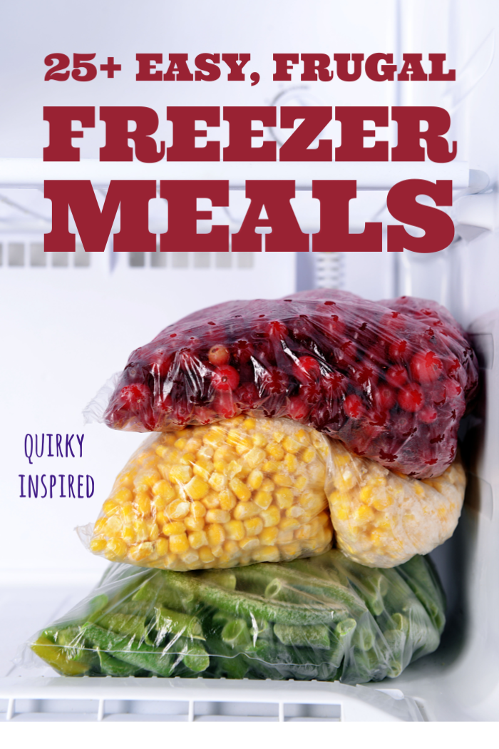 REALLY don't want to cook? Make sure to have some of these freezer meal recipes stock up in your freezer!