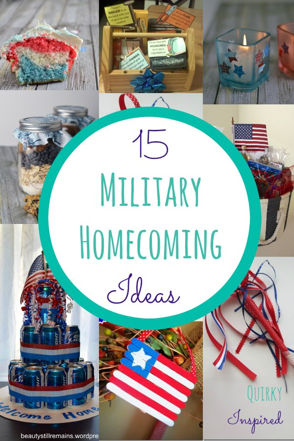 15 military welcome home gift ideas for Welcome home troops decorations
