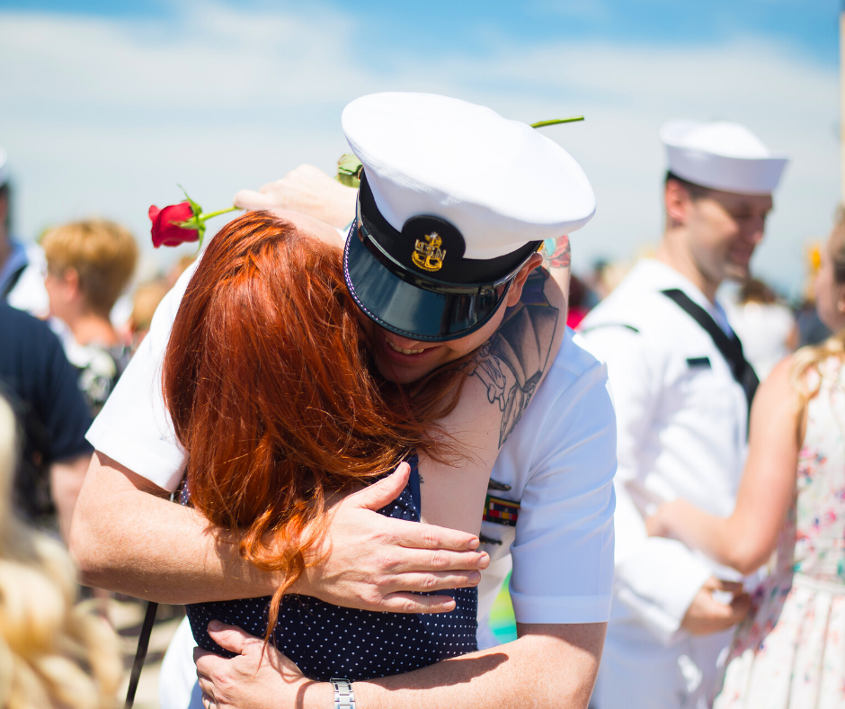 Military Welcome Home Ideas
