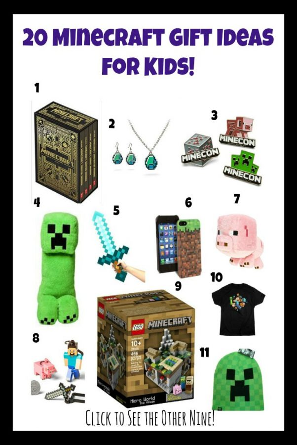 Love Minecraft? Then you need to check out these 20 Minecraft gift ideas for kids! Something for everyone on this list!