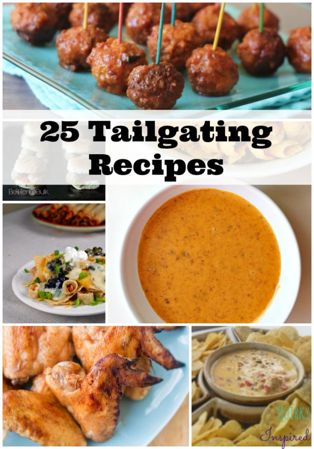 25 Epic Homegating and Tailgating Recipes