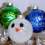 Christmas Crafts for Kids: Homemade Glitter Ornaments