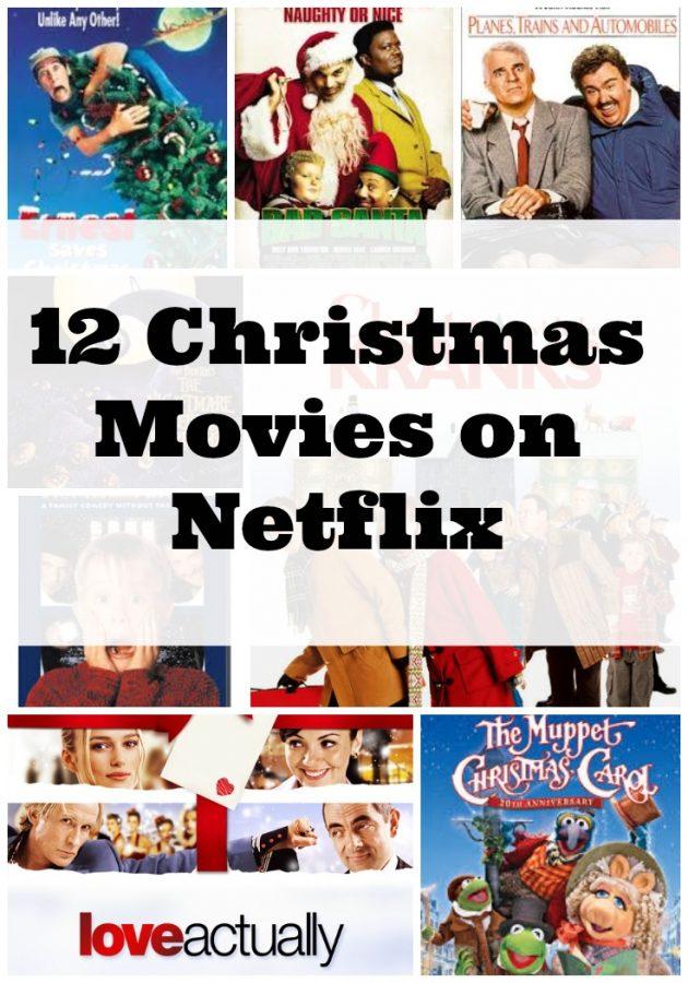 12 Favorite Netflix Christmas Movies