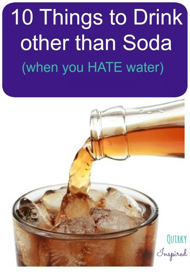 What to Drink Instead of Soda: 10 Tasty Non-Water Beverages to Tickle your tastebuds