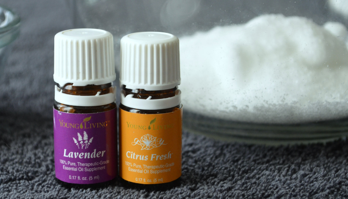 Homemade detox bath salts are a great way to relax after a hard day.