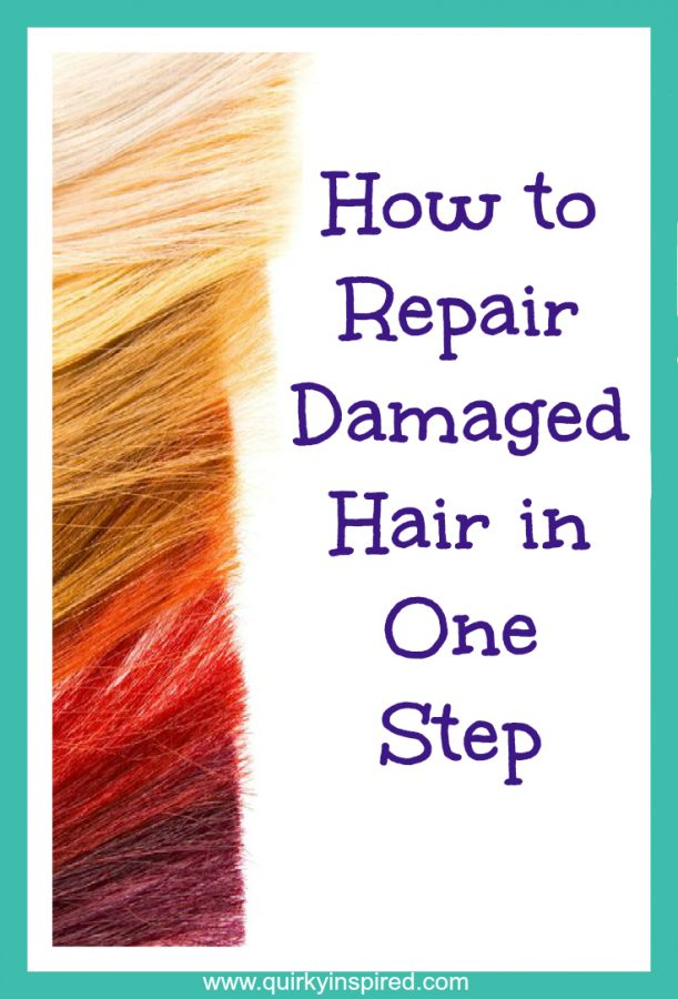 Ever really fried your hair? Check out these tips to repair your damaged hair in one easy step!