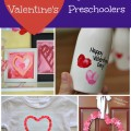 A great collection of 20 Valentine Crafts for Preschoolers