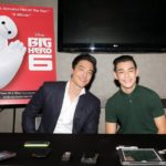 Daniel Henney and Ryan Potter, voices of Hiro and Tadashi