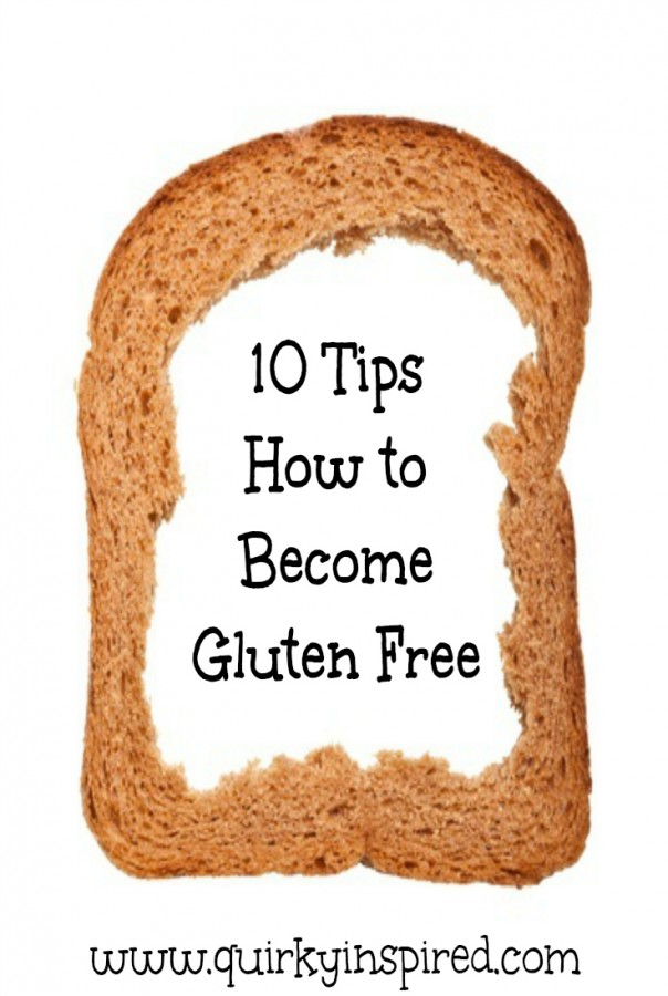 Trying to figure out how to become gluten free? Read this post for some quick and easy tips