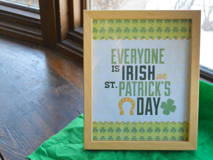 St Patricks Day Printables For Your Home