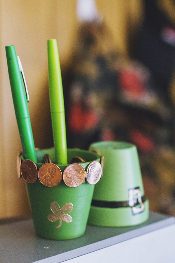 Such a cute St Patricks Day craft for kids
