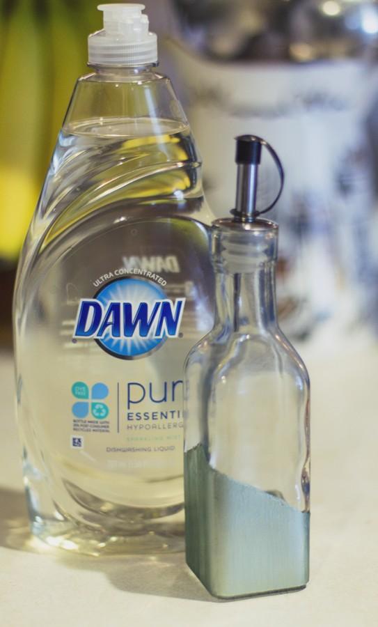 Diy dish soap dispenser Dish soap dispenser