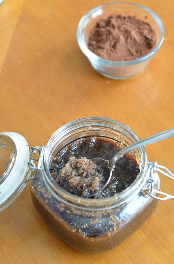 Check out how to make homemade body scrubs using essentials oils and chocolate!