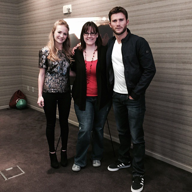 Check out my interview with Britt Robertson and Scott Eastwood from The Longest Ride