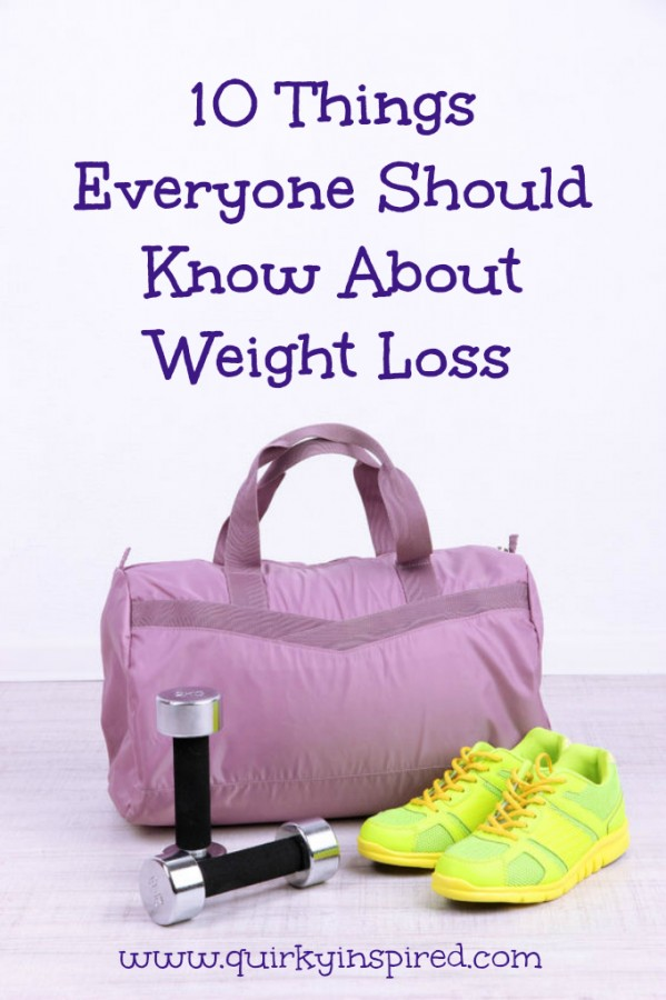 10 Things About Weight Loss Everyone Should Know