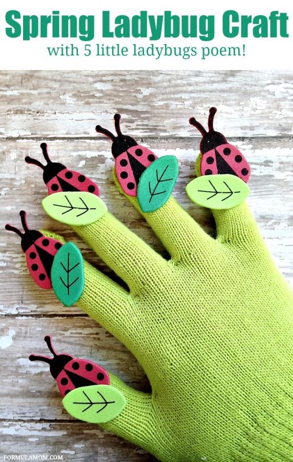 Spring-Ladybug-Craft-for-Kids